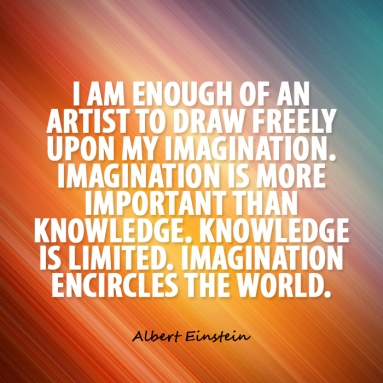 imagination Einstein